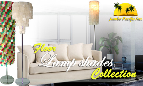 natural capiz products lights home and interior decorations.